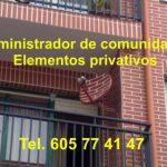 Elementos privativos comunidad de propietarios
